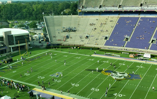 A look at Dowdy-Ficklen Stadium